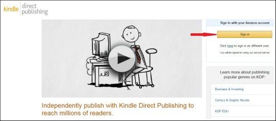 kdp direct publishing