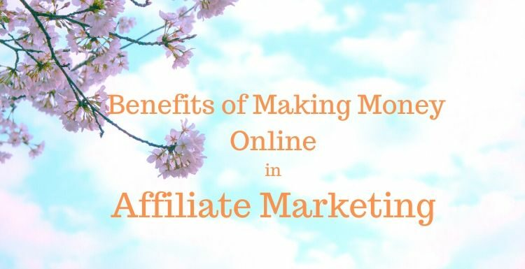 Making Money Online in Affiliate Marketing