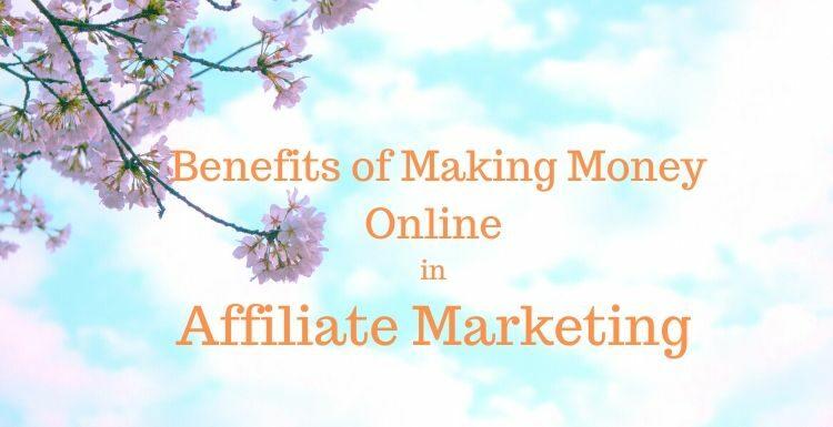 Making Money Online in Affiliate Marketing